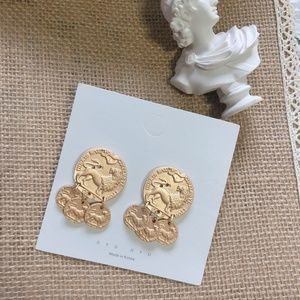 Urban Outfitters Jewelry - Gold Coin Earrings